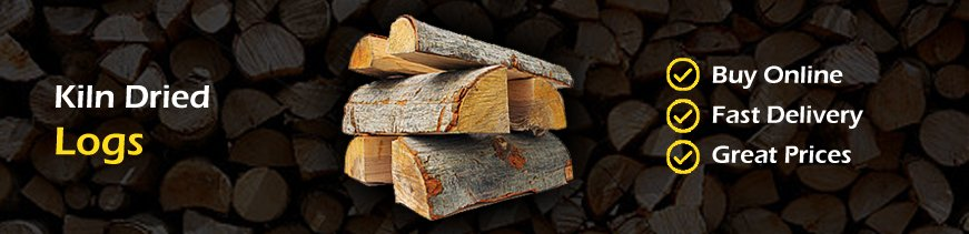 kiln dried logs for sale